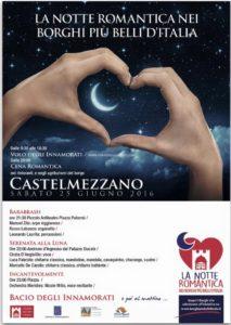 Locandina Notte Romantica nei Borghi più belli d'Italia